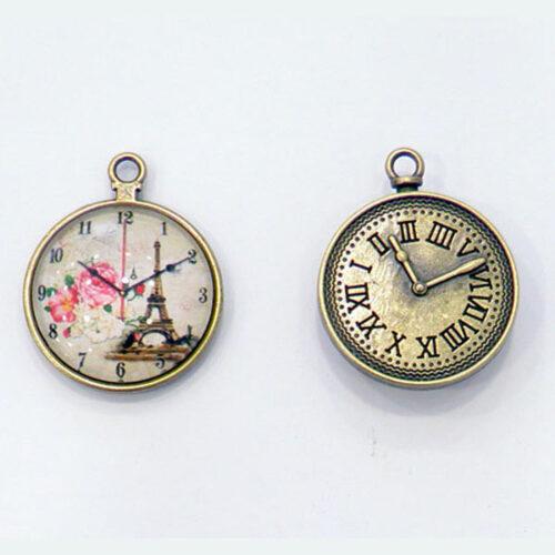 Γυάλινο ρολόι vintage