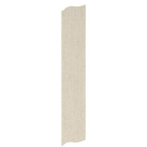 Κορδέλα λινή natural 19mm, 1m