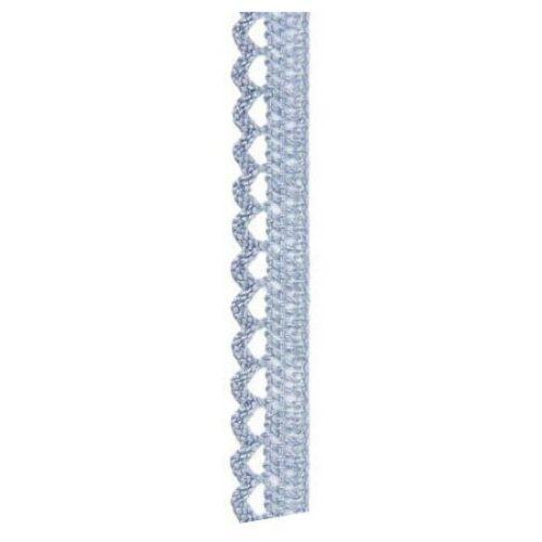 Τρεσάκι βαμβακερό blue-grey 12mm