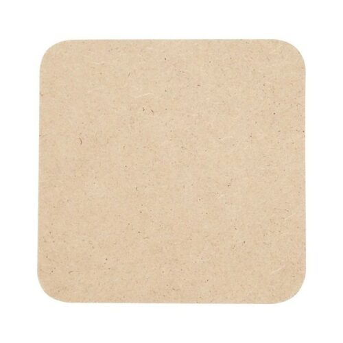 Σουβέρ τετράγωνο MDF 10cm