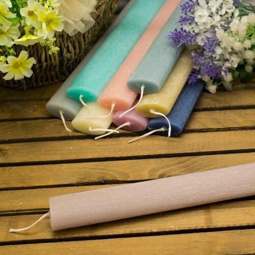 Λαμπάδα αρωματική ξυστή οβάλ 20cm φουντούκι (βανίλια)