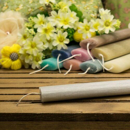 Λαμπάδα αρωματική ξυστή οβάλ 20cm γεράνι