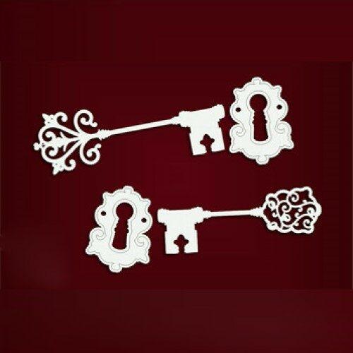 Κλειδί & κλειδαριά chipboard