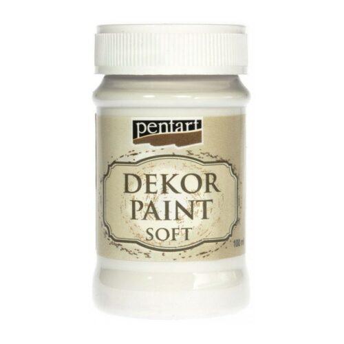 Dekor Paint Soft 100ml Pentart White