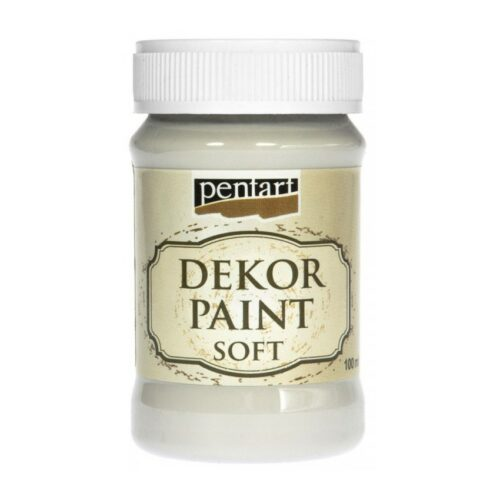Dekor Paint Soft 100ml Pentart Off white