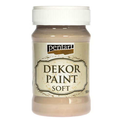 Dekor Paint Soft 100ml Pentart Cappuccino