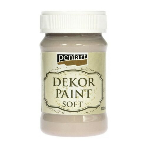 Dekor Paint Soft 100ml Pentart Mandel
