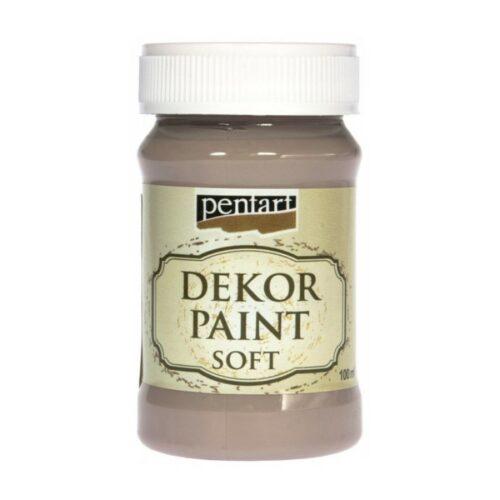 Dekor Paint Soft 100ml Pentart Milk Choco