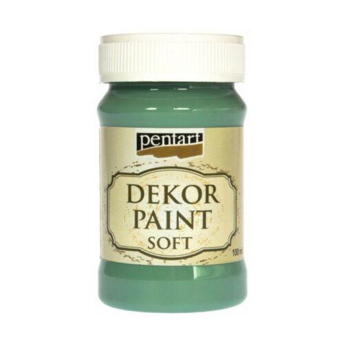 Dekor Paint Soft 100ml Pentart Turquoise