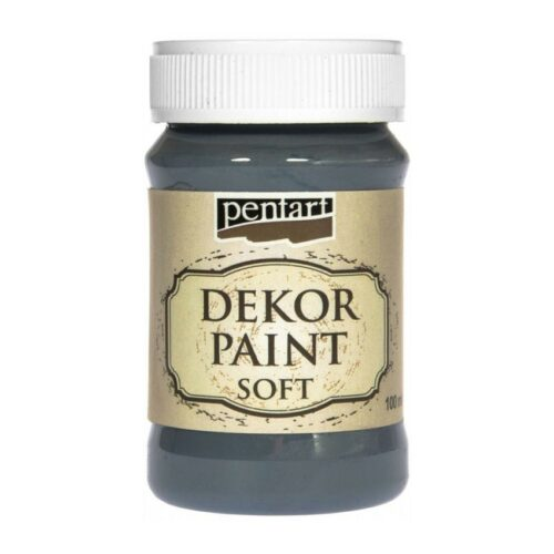 Dekor Paint Soft 100ml Pentart Indigo