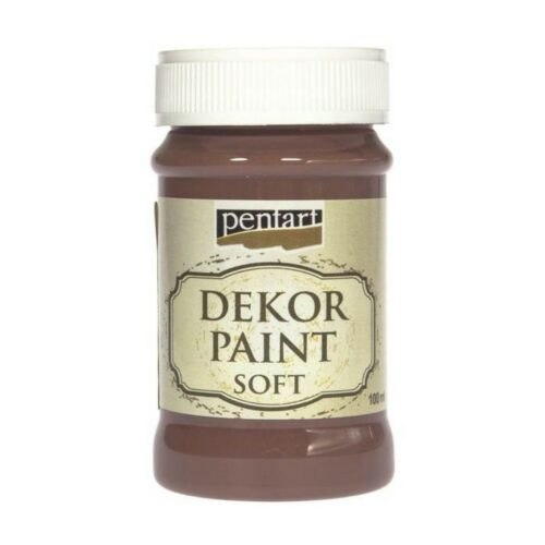 Dekor Paint Soft 100ml Pentart Vintage brown