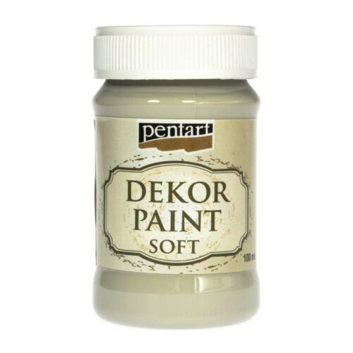 Dekor Paint Soft 100ml Pentart Vintage beige
