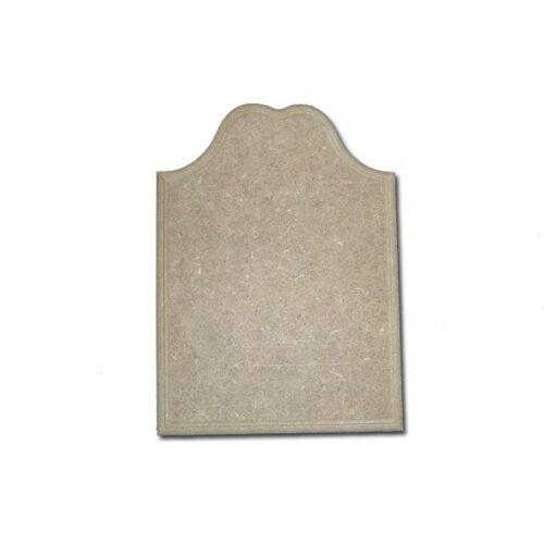 Πλακέτα από MDF 14x20x0.7cm