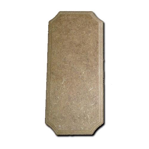 Ορθογώνια πινακίδα 10x23x0.7cm