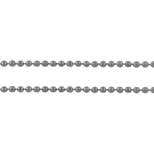 Αλυσίδα καζανάκι ασημί 3mm