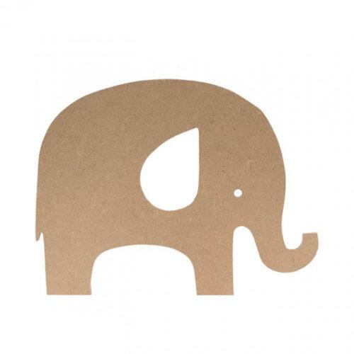 Ελεφαντάκι MDF 25x19cm