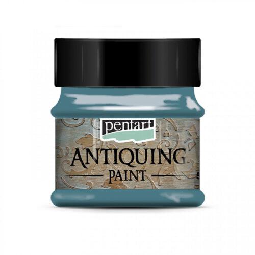 Pentart Antiquing Paint - Patina Blue