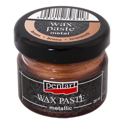 Metallic Wax Paste Brass