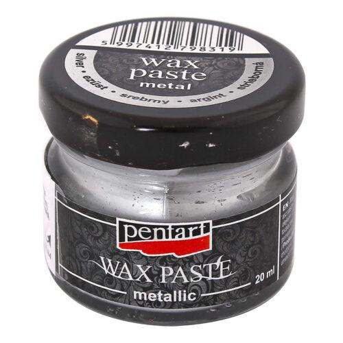 Metallic Wax Paste Silver