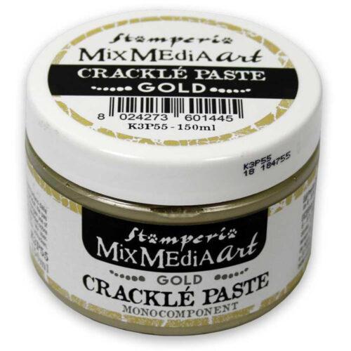 Stamperia Crackle Paste Gold