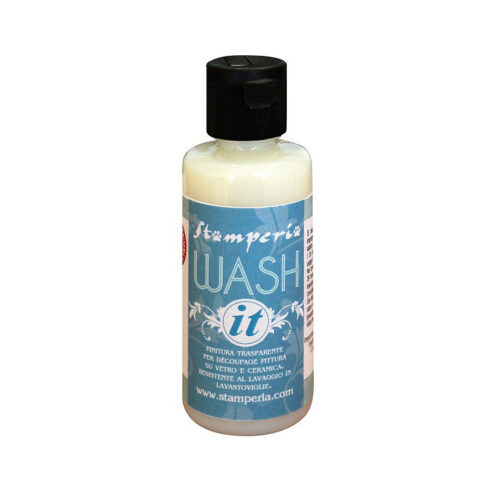 Αδιάβροχο βερνίκι Stamperia Wash-it
