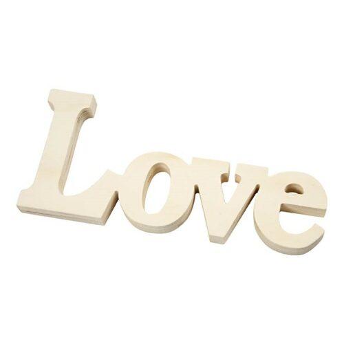 """Ξύλινο """"Love"""""""