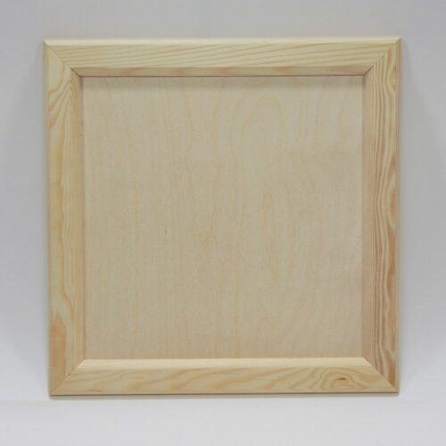 Ξύλινο καδράκι 32x32cm