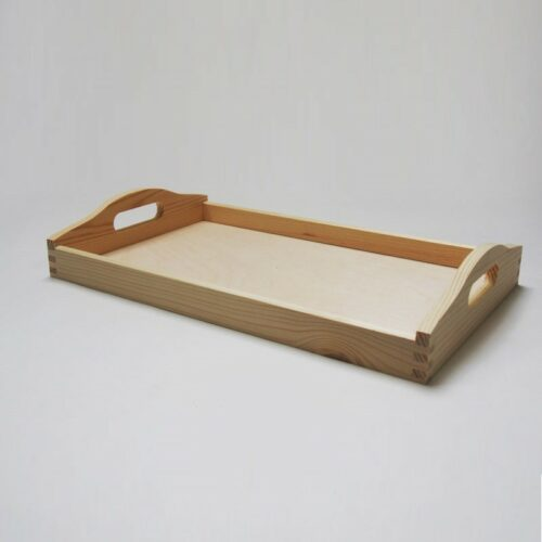 Ξύλινος δίσκος 39.5x24x6.3cm