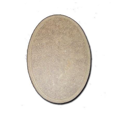 Οβάλ πινακίδα 14.5×20.5×0.7cm