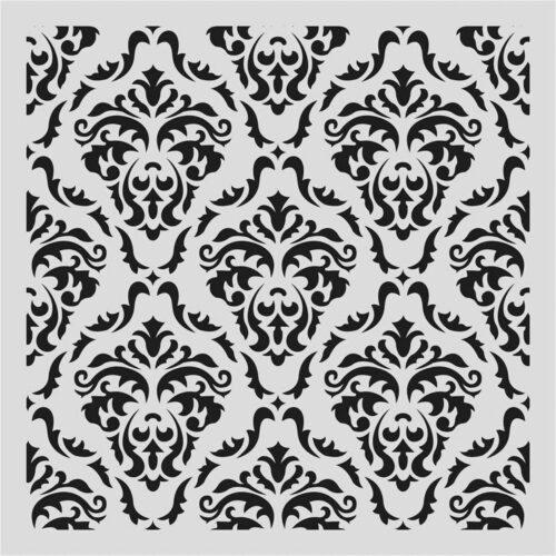 Στένσιλ (Stencil) 50x50 HD019