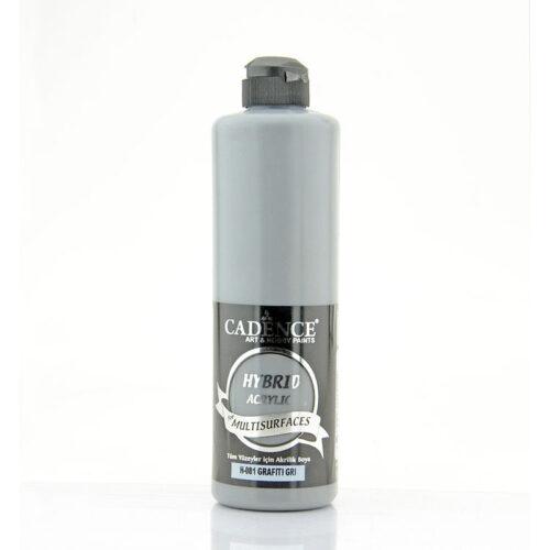 Υβριδικό ακρυλικό Graffity gray 500ml H081