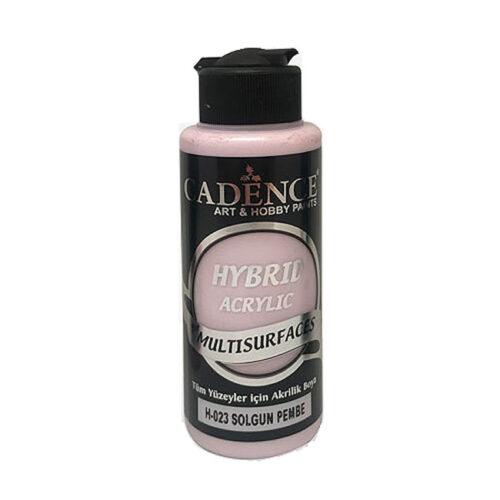Υβριδικό ακρυλικό Faded pink 120ml H023