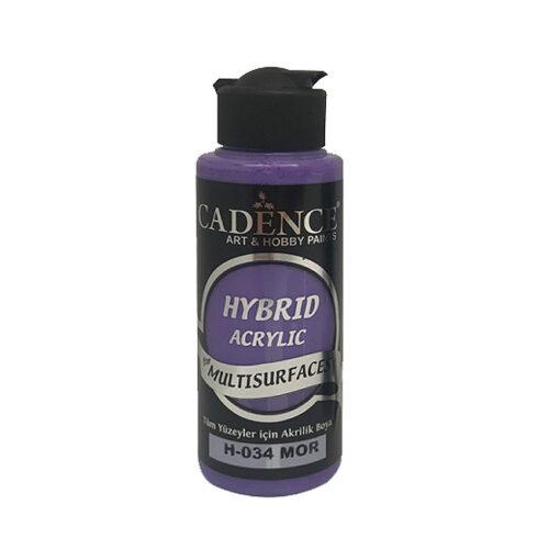 Υβριδικό ακρυλικό Purple 120ml H034