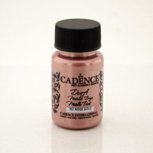 Dora metallic Cadence Rose gold 50ml