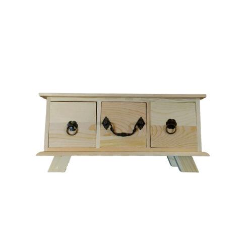 συρταριέρα ξύλινη